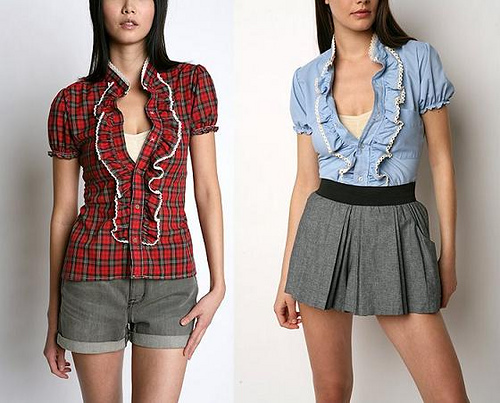 Fashion women s blouse history of women s golf clothing