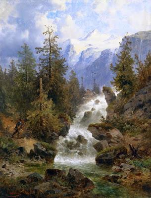 Paisajismo Clasico Austria Vistas Naturales Al Oleo