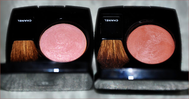 Румяна Chanel Joues Contraste Powder Blush #15 Orchid Rose и #73 Star Dust