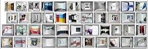 Avec mt-galerie Une grande collection de multiples petits livres d'artistes en voyage...