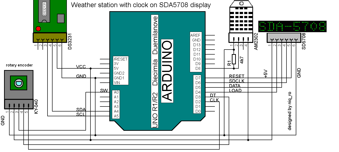 Ky 040 Rotary Encoder Wiring Download Diagrams Ds3231 Matrix Clock Schematic Get Free Image Animatic Smart Motor Colors