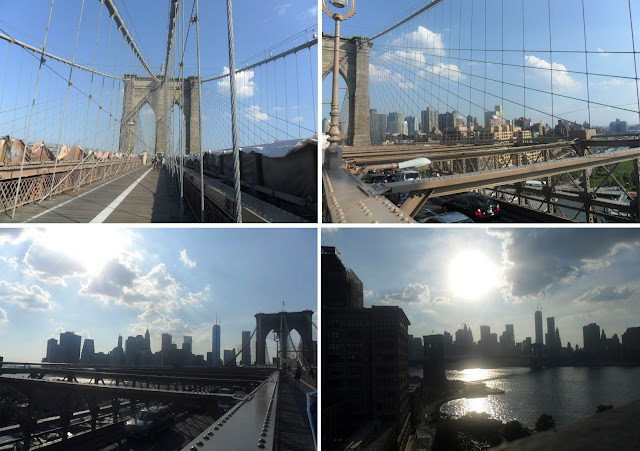 Manhattan and Brooklyn bridges, New York