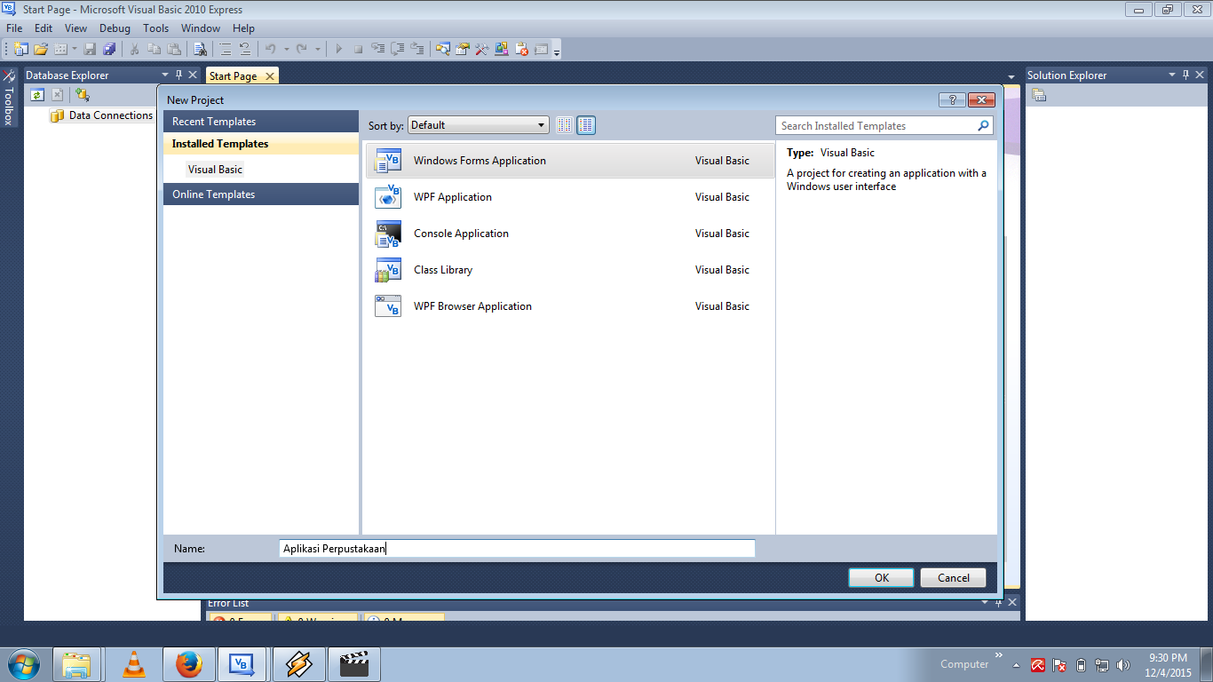 Aplikasi Perpustakaan Admin Using Visual Studio 2010 (1)