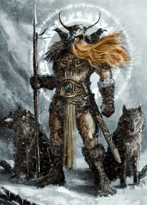 Odin, from Norse Mythology