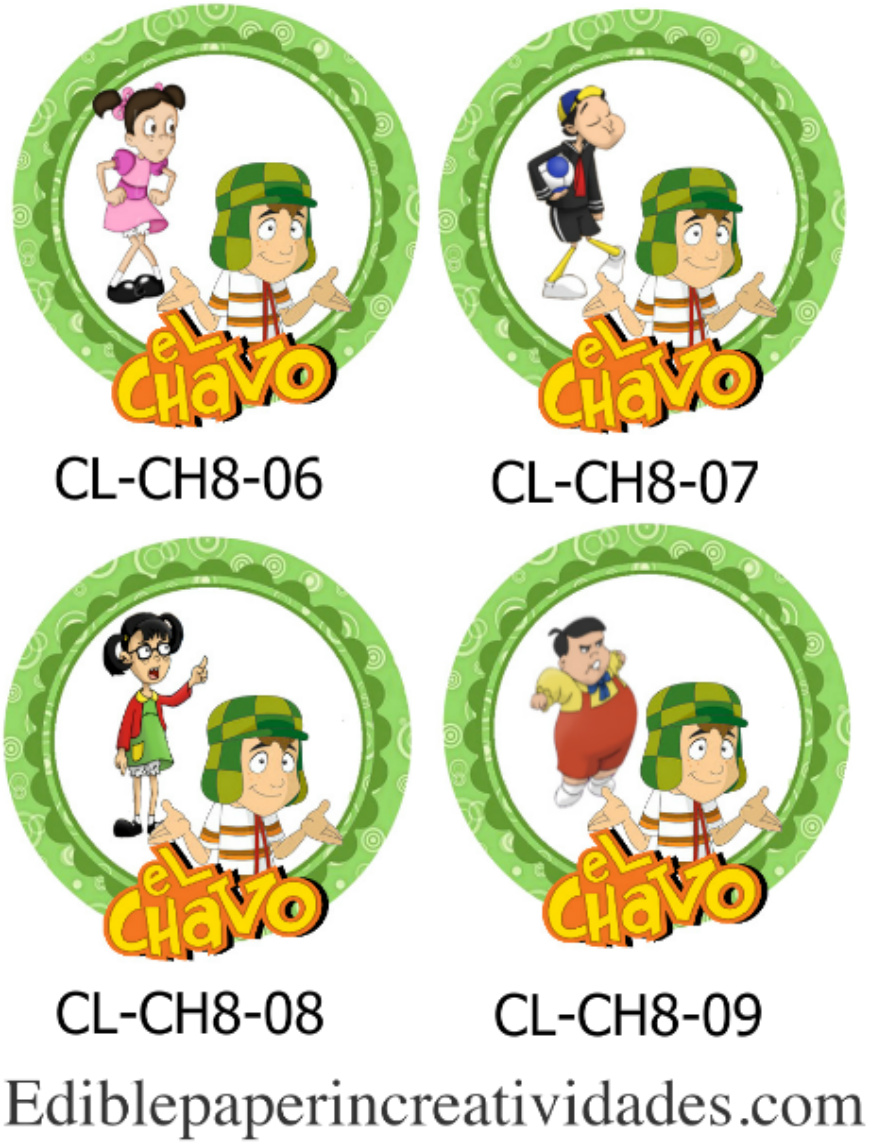 Edible Paper In Creatividades EL CHAVO DEL OCHO