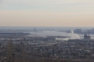 photo of the harbor at Duluth Superior