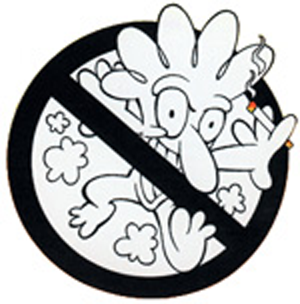Yosi Kadiri DOH Anti-Smoking Campaign Mascot 80's - 90's