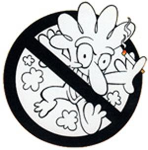 Yosi Kadiri DOH Anti-Smoking Campaign Mascot 80's - 90's