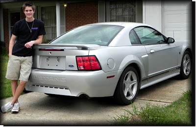 4ever Michael and his 2003 Rousch Mustang 3-2012