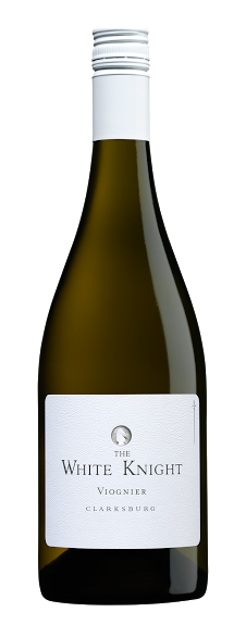 bottle of The White Knight Viognier