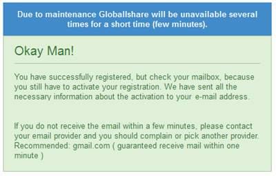 Mendaftar Globallshare dan Dapatkan Sahamnya