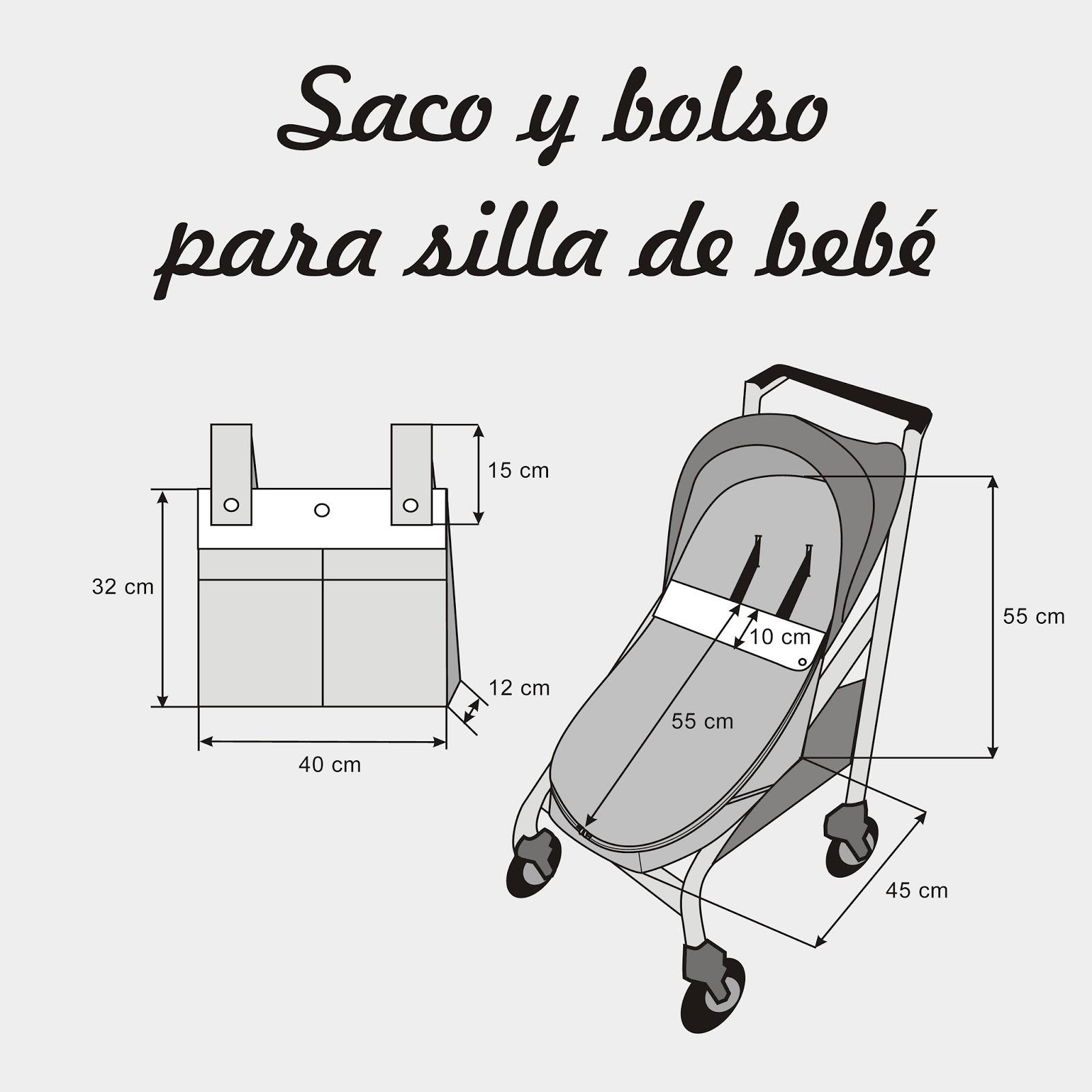 Cose conmigo un saco universal para silla de paseo de bebé ~ Colours ...