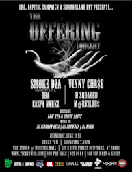 THE OFFERING CONCERT: Smoke DZA & Vinny Cha$e / Webster Hall - 6.26