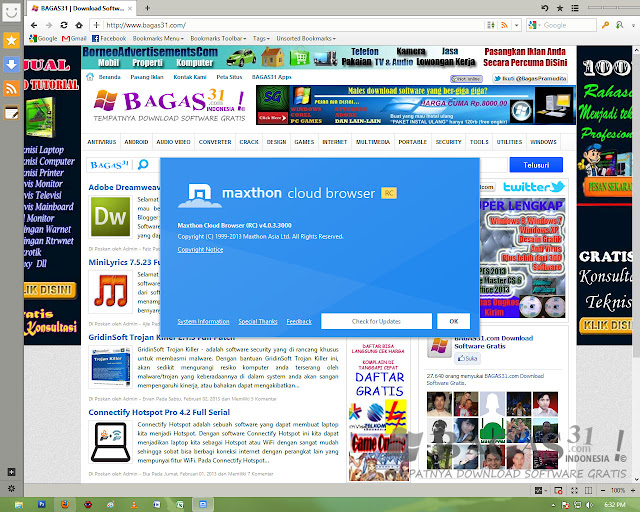 Maxthon Cloud Browser 4.0.3 Rc