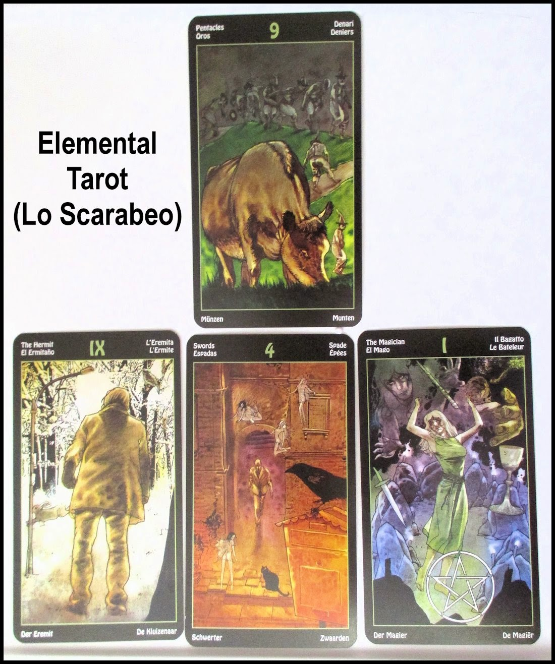 Tarot Notes Elemental Tarot General Reading Part 5