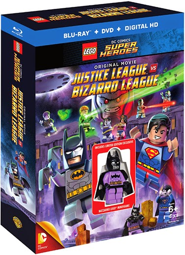 Enter the LEGO Justice League Vs Bizarro League Blu-ray Giveaway. Ends 3/3