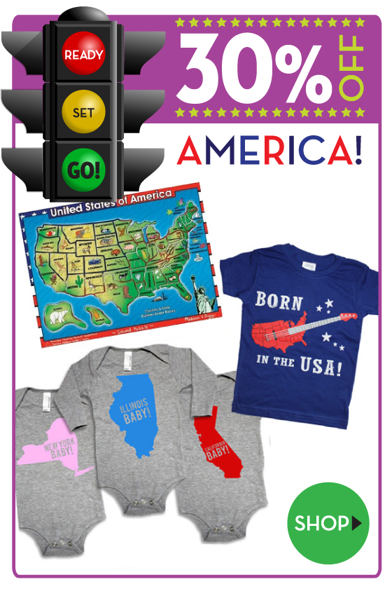 30% off USA Favorites