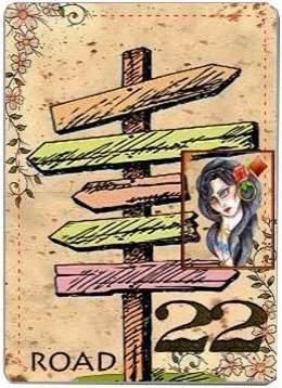 carta de lenormand 22 caminos