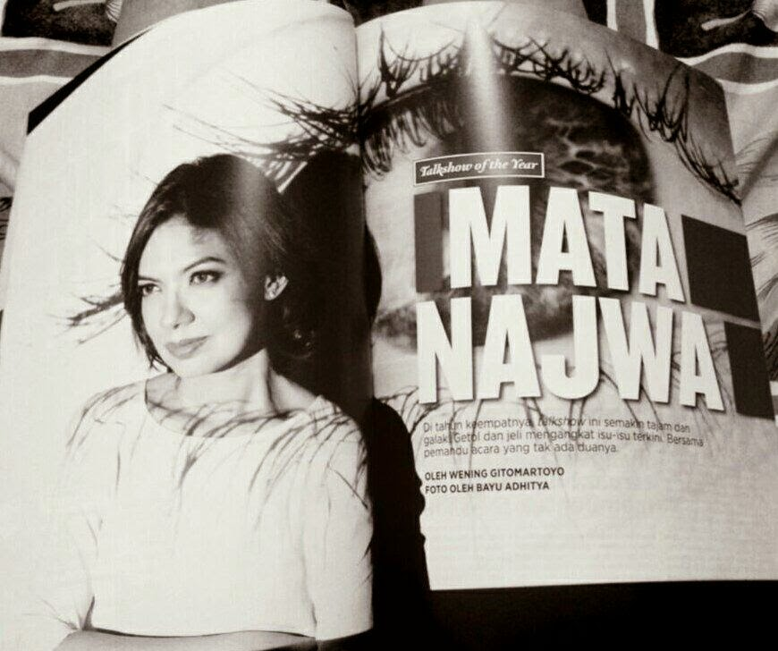 Mata Najwa di Rolling Stone Indonesia