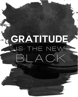 Gratitude is the new black