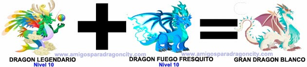 Como Sacar El Gran Dragon Blanco En Dragon City Combinacion 3  Apps