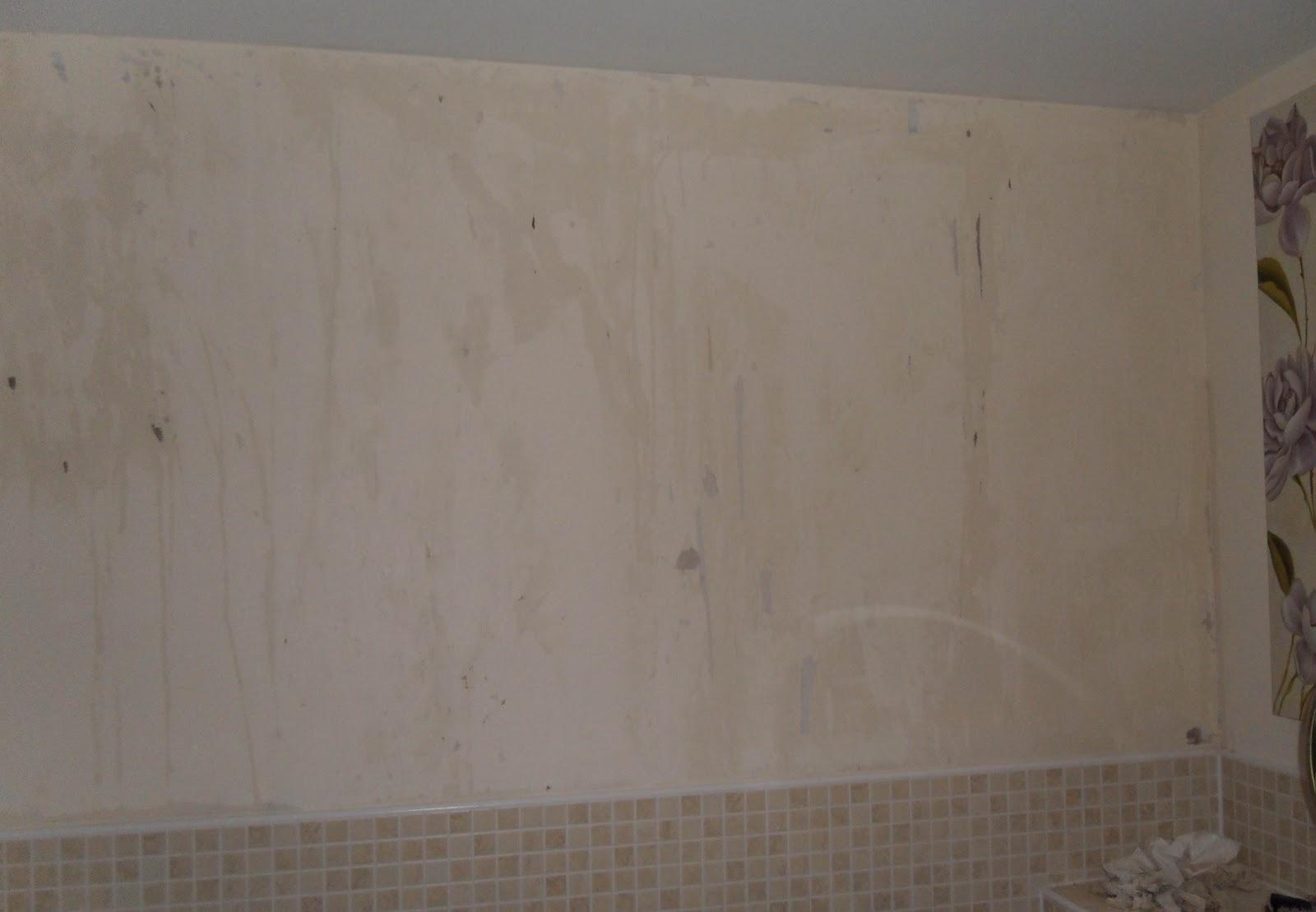 stripping wallpaper off plasterboard