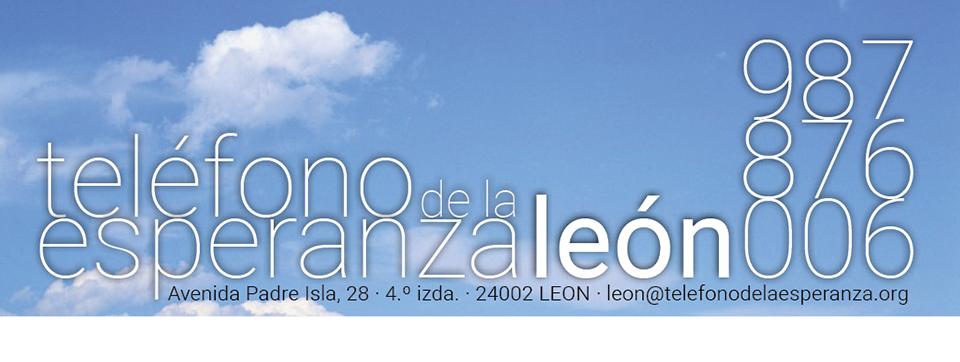 TELÉFONO DE LA ESPERANZA DE LEÓN            987 87 60 06