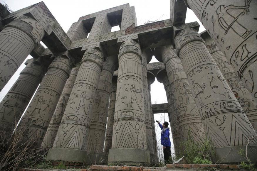 Replika Kuil Karnak (Mesir)