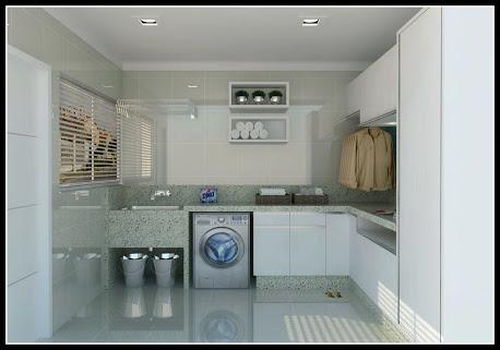Casa com afeto lavanderia - Lavanderia in casa ...
