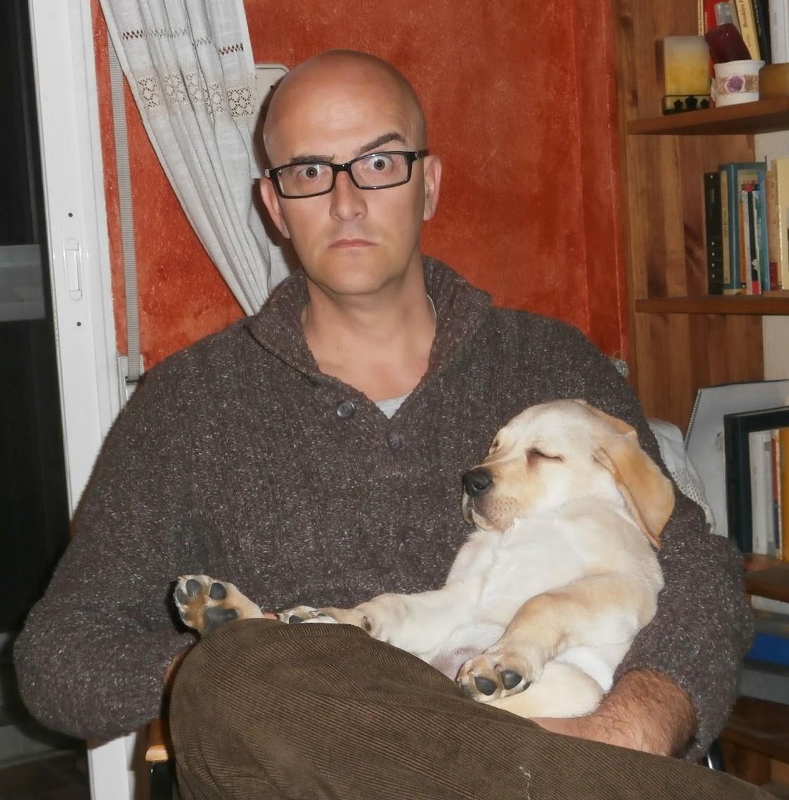 El autor y Panchito