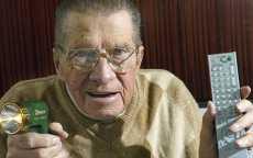 El inventor del control remoto murió a los 96 años