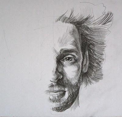 Igor Lukyanov - illustrateur et artiste (autoportrait)