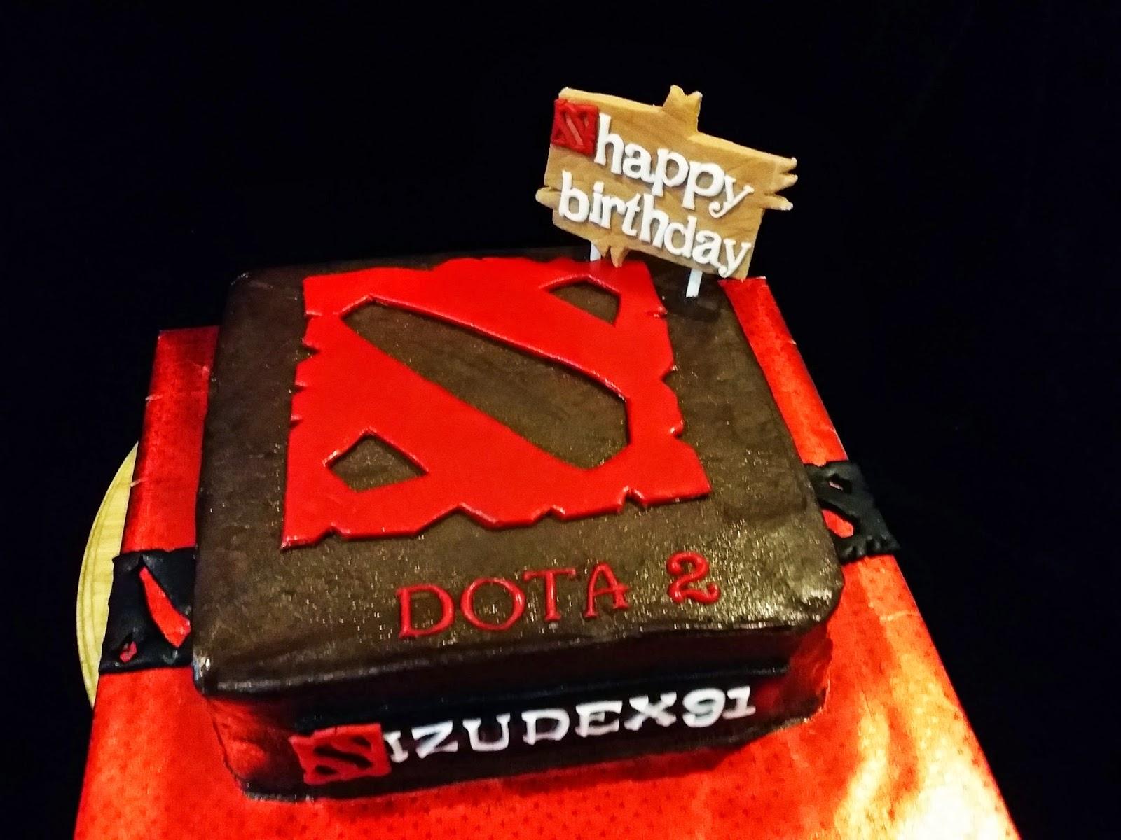 Dota Theme Cake