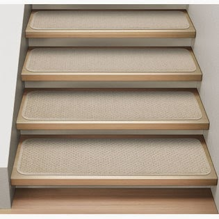 Carpet stair treads - Stay safe