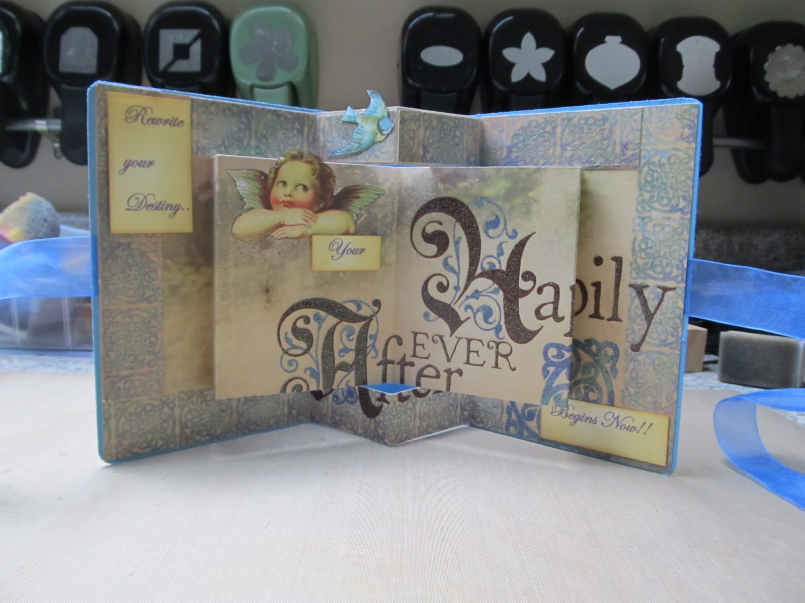 how to make advanced pop up book
