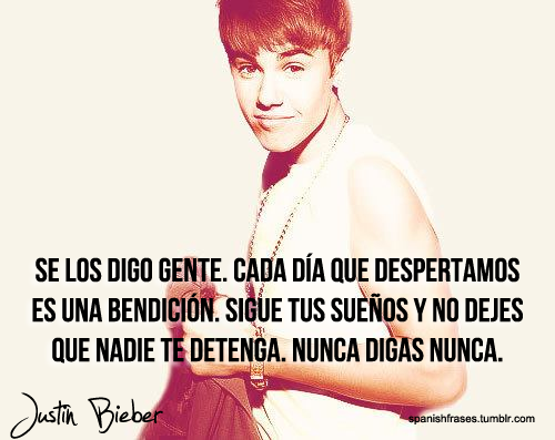 De Justin Bieber