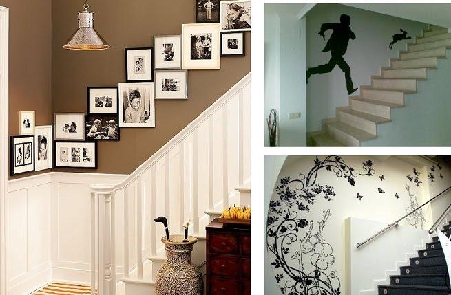 Construindo e decorando passo a passo a casa na praia - Decorar pared escalera ...