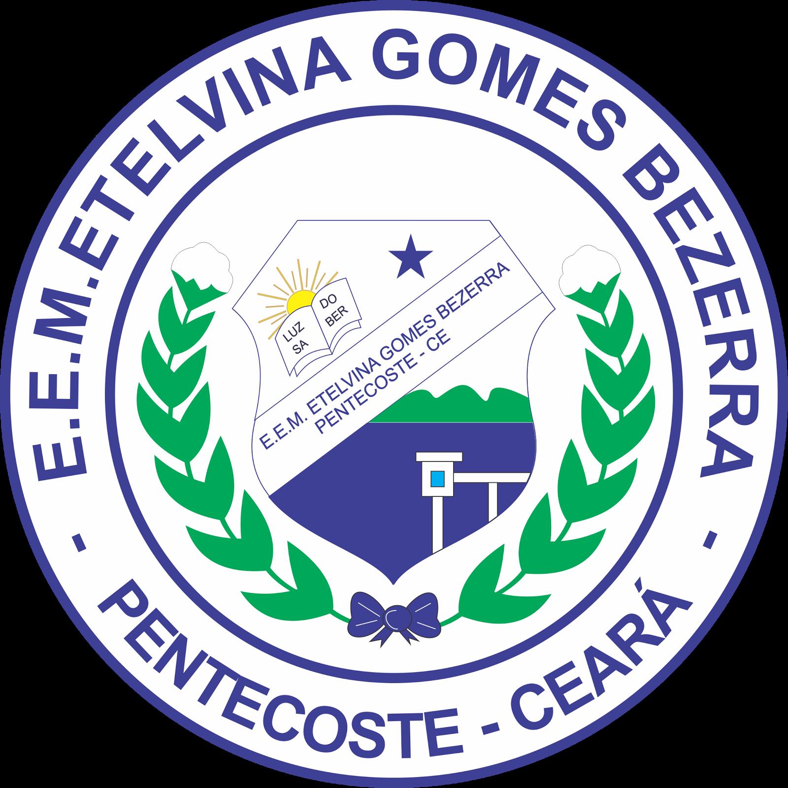 Logotipo da Escola Etelvina Gomes Bezerra