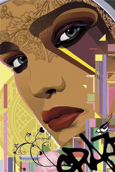 Top Graffiti Art Creative Graffiti Face Wall Murals