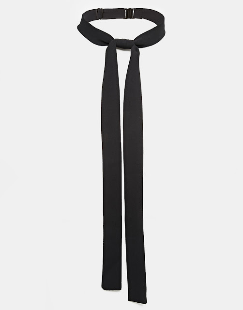 black skinny scarf, black skinny tie ladies,