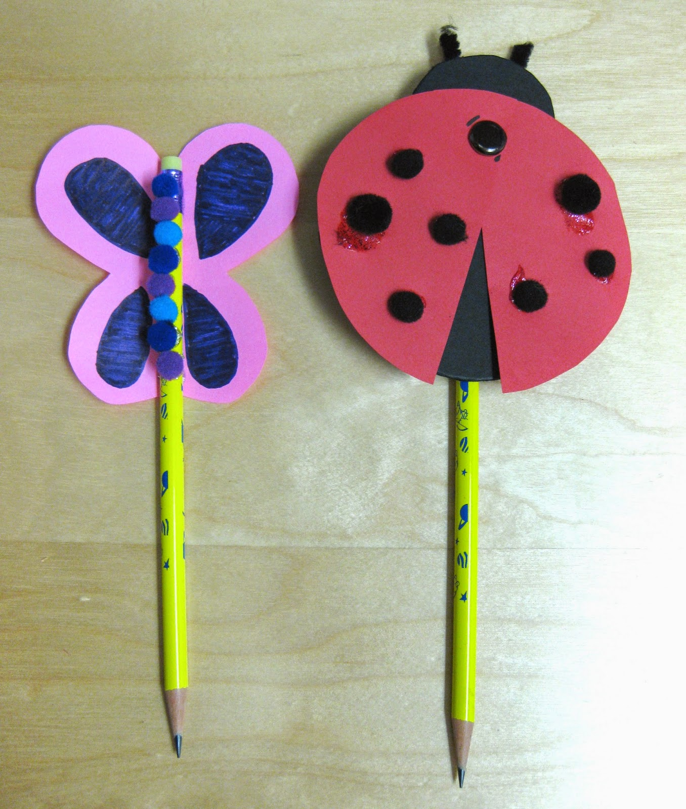 Attractive Art And Craft Ideas For Kids Part - 7: Pencil Craft Ideas For Kids