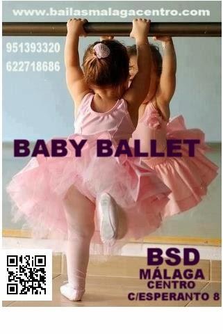 BABY BALLET EN BSD MÁLAGA CENTRO