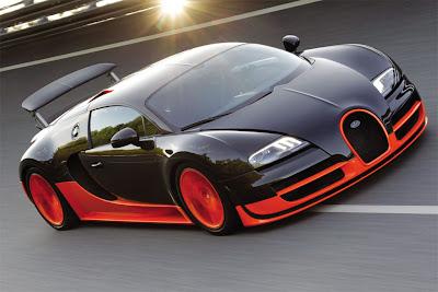 Fast cars - Bugatti Veyron Super Sport