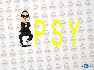 Psy Park Jae Sang Minimalist HD Desktop Wallpaper