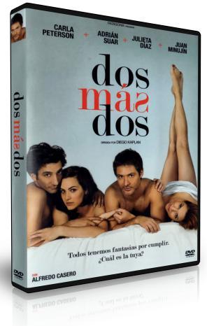 Dos más dos DVDR NTSC Español Latino Menú Full 2012