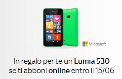 Sky regala Nokia Lumia 530 fino al 15/06