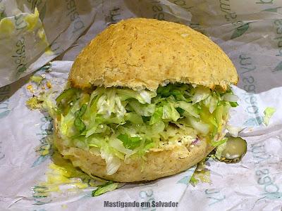 My Salad: Sanduíche Veggie Cheese Deleite