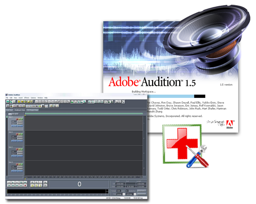 кряк для adobe audition 2.0