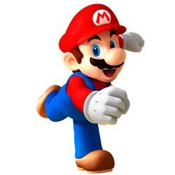 Diversos jogos do Mario