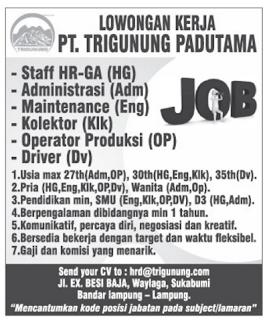Logo PT. Trigunung Padutama